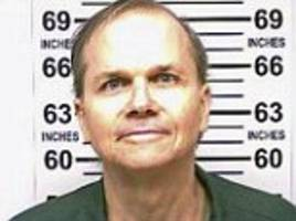 john lennon's killer mark chapman is pictured for the first time in six ahead of his parole hearing