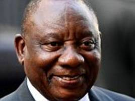 South Africa's president declares it is time to 'correct a past wrong' by grabbing land