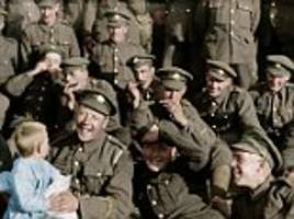 first glimpse of peter jackson's new first world war film using imperial war museum archives