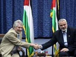 New picture emerges of Jeremy Corbyn's key ally with Hamas leader who is on US 'terror list'