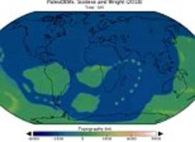amazing animation reveals how much earth's continents have shifted over 540 million years