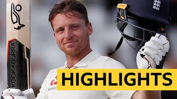 England v India highlights: Jos Buttler scores maiden Test century but hosts face heavy defeat
