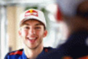 gasly to join verstappen at red bull racing in 2019