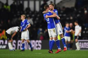 derby county will lose against ipswich town according to sky sports pundit
