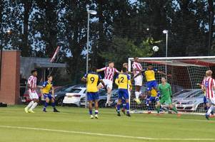 Stoke City under-23s 1 Southampton under-23s 4: Martina makes debut in heavy hammering