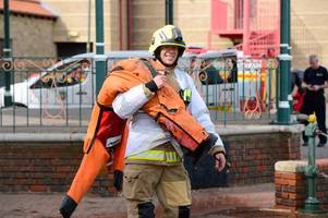 five 'people' rescued from capsized boat in grimsby's alexandra dock