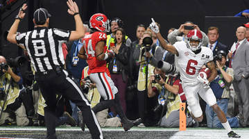 how life has changed for devonta smith, alabama's other true freshman title game hero