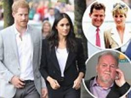paul burrell says prince harry is taking leaf out of diana's book by freezing out thomas markle