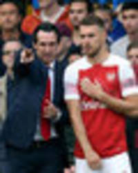 Arsenal refuse to be held to ransom by Aaron Ramsey over huge wages demands