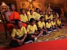 thai cave boys say the experience taught them about 'love' and 'how to be patient'