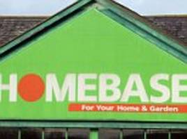 homebase on the brink: 11,000 jobs at risk as sales plunge 10% with 70% of stores now in the red