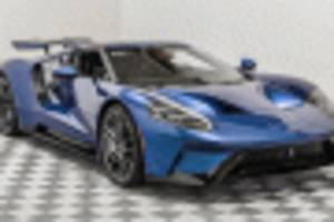 john cena's 2017 ford gt up for sale again