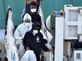 concern grows for 150 migrants stuck on ship for 10th day