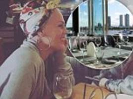 'raise your glass!' singer pink dedicates a bottle of wine to her favourite gold coast restaurant