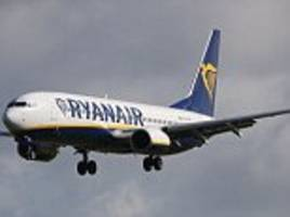Ryanair pilot FAINTS in mid-air as plane was being diverted during a thunderstorm