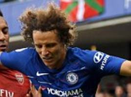 luiz joins willian in suggesting he would have left chelsea if conte had remained at stamford bridge