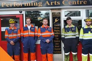 british steel apprentices give scunthorpe community centre a new lease of life