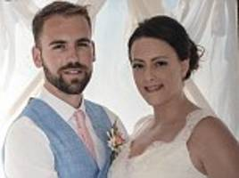 bride, 29, reveals she spent her wedding night on a drip after a salmonella outbreak