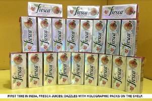 Fresca Juices Launches India's First Holographic Packs