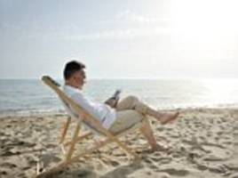 taking at least 3 weeks vacation from the office each year can extend your life expectancy