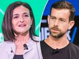twitter's ceo jack dorsey and facebook's sheryl sandberg to be questioned by congress