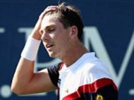 cameron norrie bows out of us open at the hands of dusan lajovic