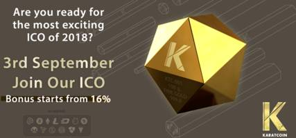 karatcoin is the future of gold crypto asset - be part of this revolution