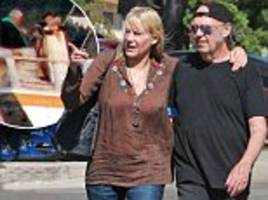 hollywood's ultimate singleton daryl hannah finally got hitched at 57 to hippy rocker neil young