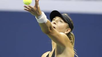 'you've got to be crazy' - fans stay past midnight to see sharapova extend perfect night record