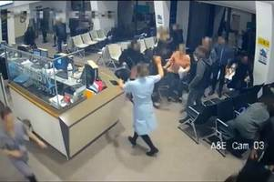 measham nurse who saved a&e patients from knife-wielding maniac says she was 'just doing her job'