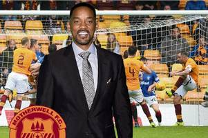 will smith gives bizarre shoutout to motherwell fan after last-minute equaliser against rangers