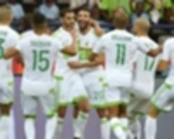 algeria and tunisia name squads for 2019 afcon qualifiers