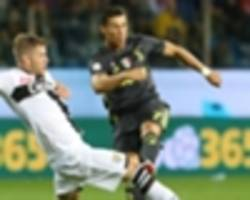 parma 1 juventus 2: dogged hosts downed but ronaldo's wait goes on