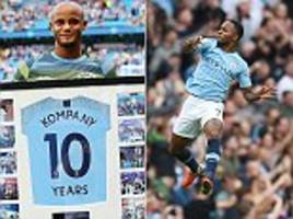 vincent kompany celebrates a landmark - five things you missed