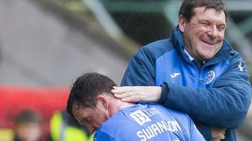 danny swanson: st johnstone sign midfielder for third time after hibs exit