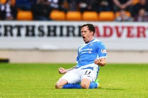 st johnstone move quickly to sign danny swanson