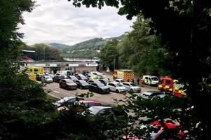 boy, eight, rescued after falling into river in pontypridd