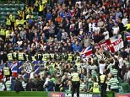 there were only 800 rangers' fans at celtic park but nacho novo got a ticket: five things you missed