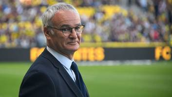 'i'd like to go back': claudio ranieri says he's waiting to be invited back to leicester city