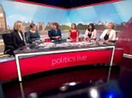 bbc politics show sparks controversy due to all-female line-up