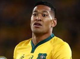 folau '50-50' for australia's rugby championship clash vs south africa