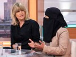 rachel johnson tells gmb why she 'has a problem' with muslim women wearing the veil