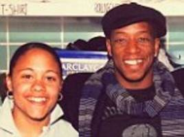 alex scott posts throwback picture with ian wright when she was working at arsenal's laundry