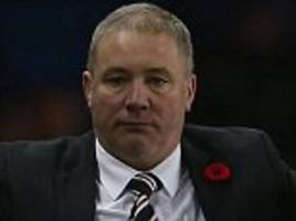 i saw myself in the mirror and looked terrible: ally mccoist on perils of management