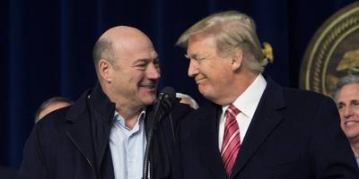 gary cohn reportedly snatched documents off of trump's desk to prevent him from wrecking two massive trade deals