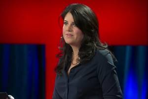 monica lewinsky cheered for walkout after 'dishonest and unethical' bill clinton question