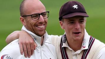 somerset on top after 22 wickets fall on day one v lancashire