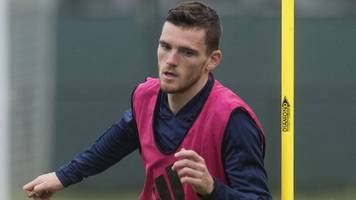 liverpool's andy robertson can be great scotland captain - ally mccoist
