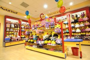 be quick to secure a free build a bear at the shop's weekend event