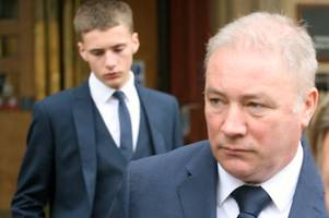 ally mccoist's son dodges jail after crash leaves victim with a fractured skull